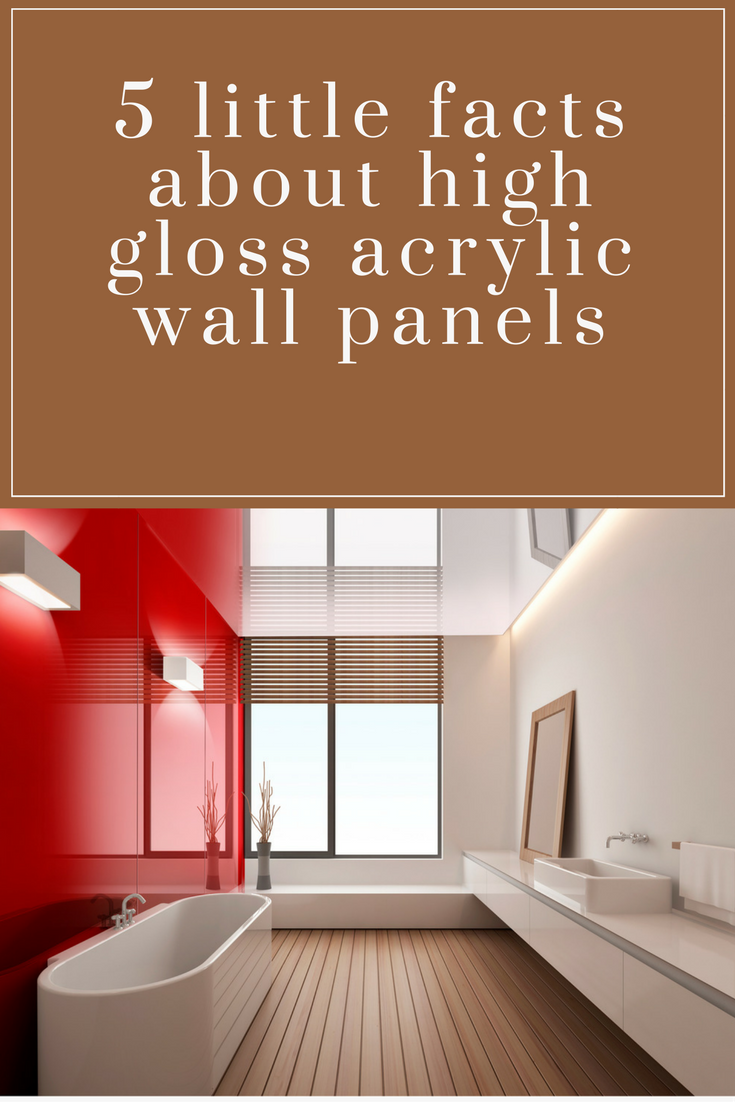 Image of: Decorative High Gloss Acrylic Wall Panels For Showers Kitchen Backsplashes Offices 5 Little Known Facts