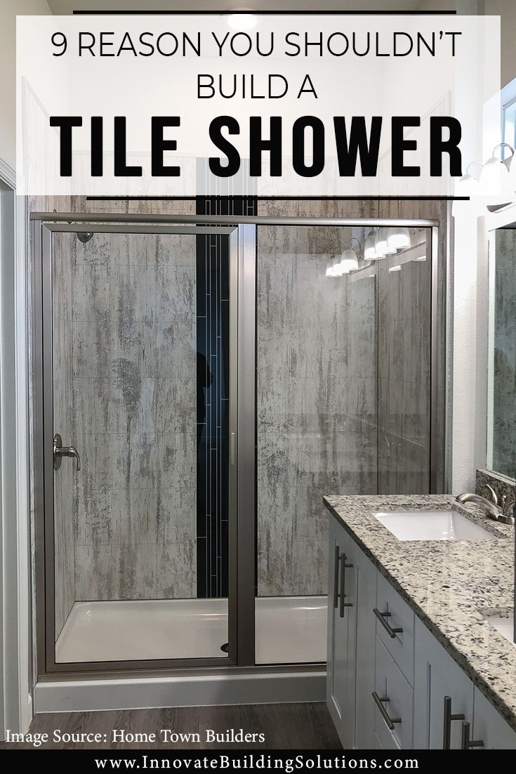 9 Reasons You Shouldn T Build A Tile Shower Grout Free Wall
