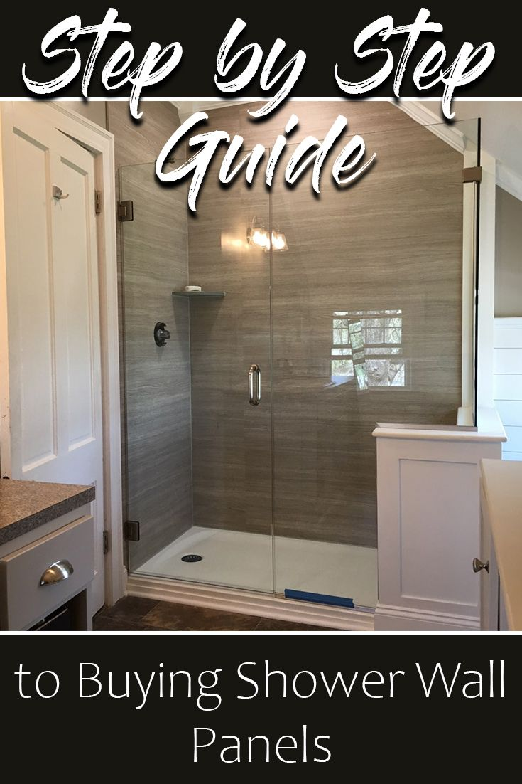 A Step by Step Guide to Buying Shower Wall Panels
