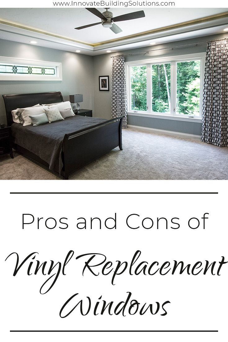 Pros and Cons of Vinyl Replacement Windows