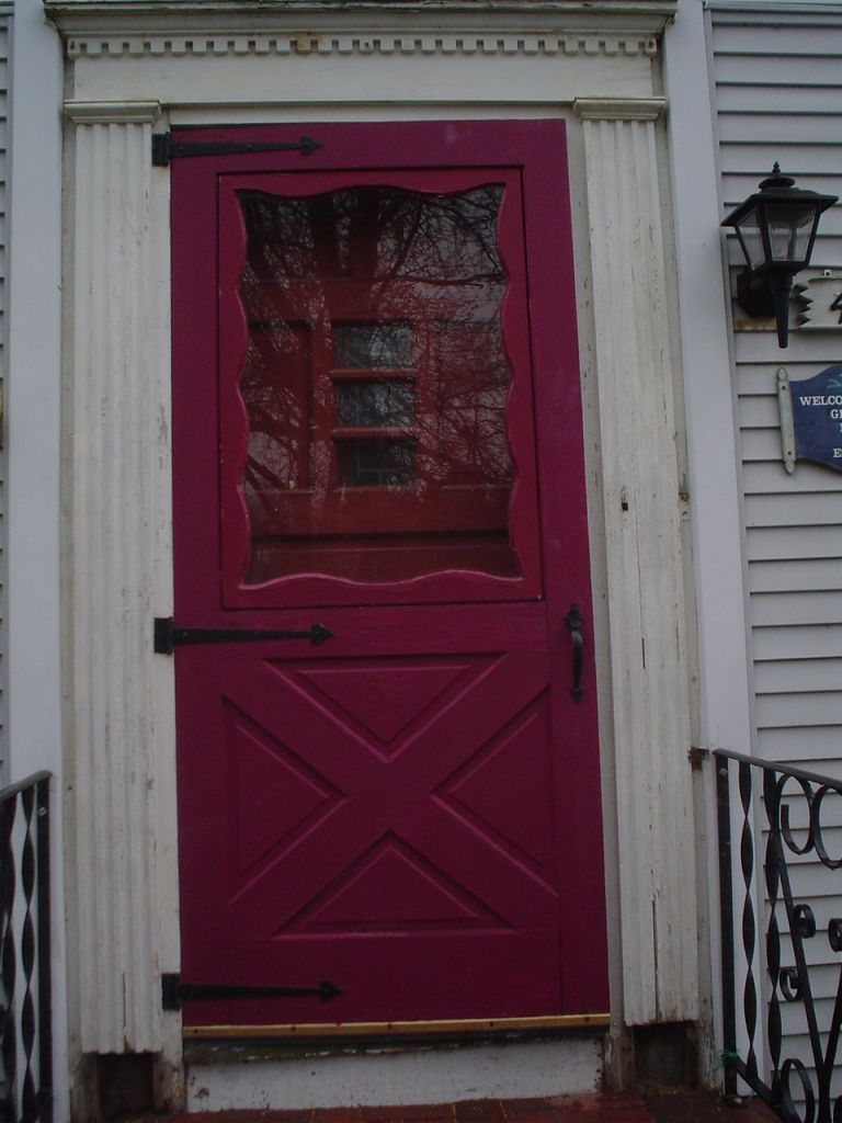 Provia Larson Storm Door Azek Pvc Replaces Wood Exterior House Trim Crown Moulding Storm Doors With Screens Cleveland Columbus Cincinnati Ohio