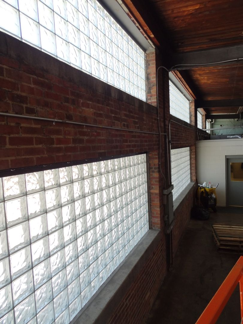 Glass Block Windows in Commercial Buildings Add Style and Energy Efficiency