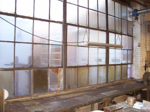 Old Factory Window Martindale Electric