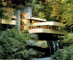 Falling water home by Frank Lloyd Wright