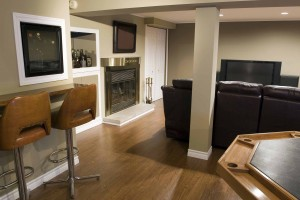 Basement Remodeling to add cost effective living space
