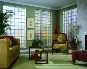 Sun and Solar Block acrylic block window wall