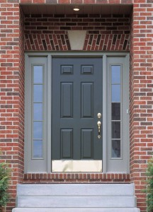 Steel Entry Door for curb appeal and high cost/value relationship