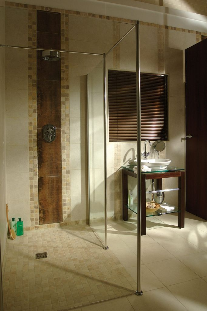 Accessible Shower Wet Room Roll In Shower Cleveland