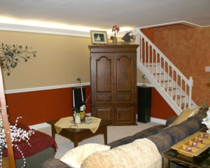 Basement Remodeling Family and TV Room