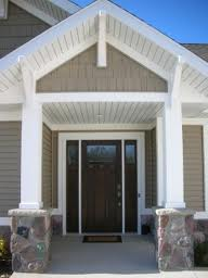 No step front entry to home