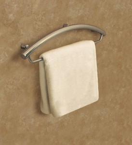 Decorative Grab Bar and Towel Bar - Luxuria Line