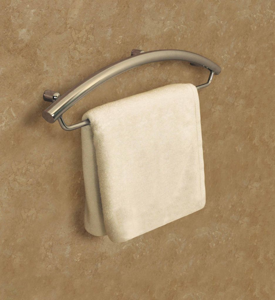 Decorative Grab Bar And Towel Bar   Luxuria Line