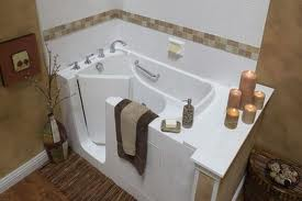 Walk in bathtubs add safety and style