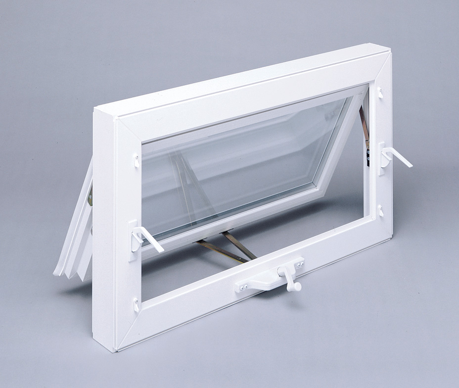 Awning Window Hinged At Top Crank Bottom Opens Out
