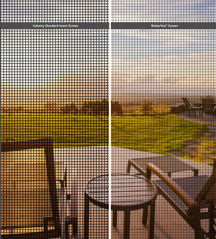 Disadvantage 3 use a pet screen for a better casement window | Innovate Building Solutions #CasementWindow #Screens #HomeRemodel
