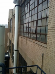 Sam Adams Brewery Factory Windows Before Installation