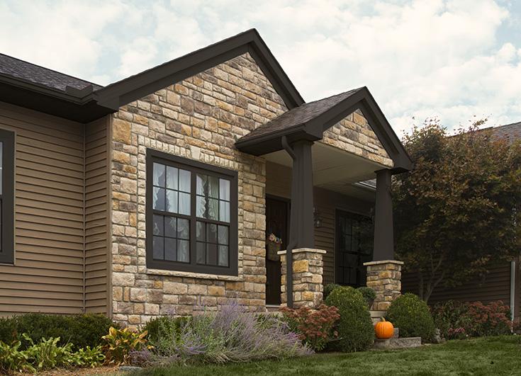 Advantage #6 no storm windows on energy efficienty Bronze Painted Columbus double hung window | Innovate Building Solutions #StormWindows #DoubleHung #ClevelandWindow