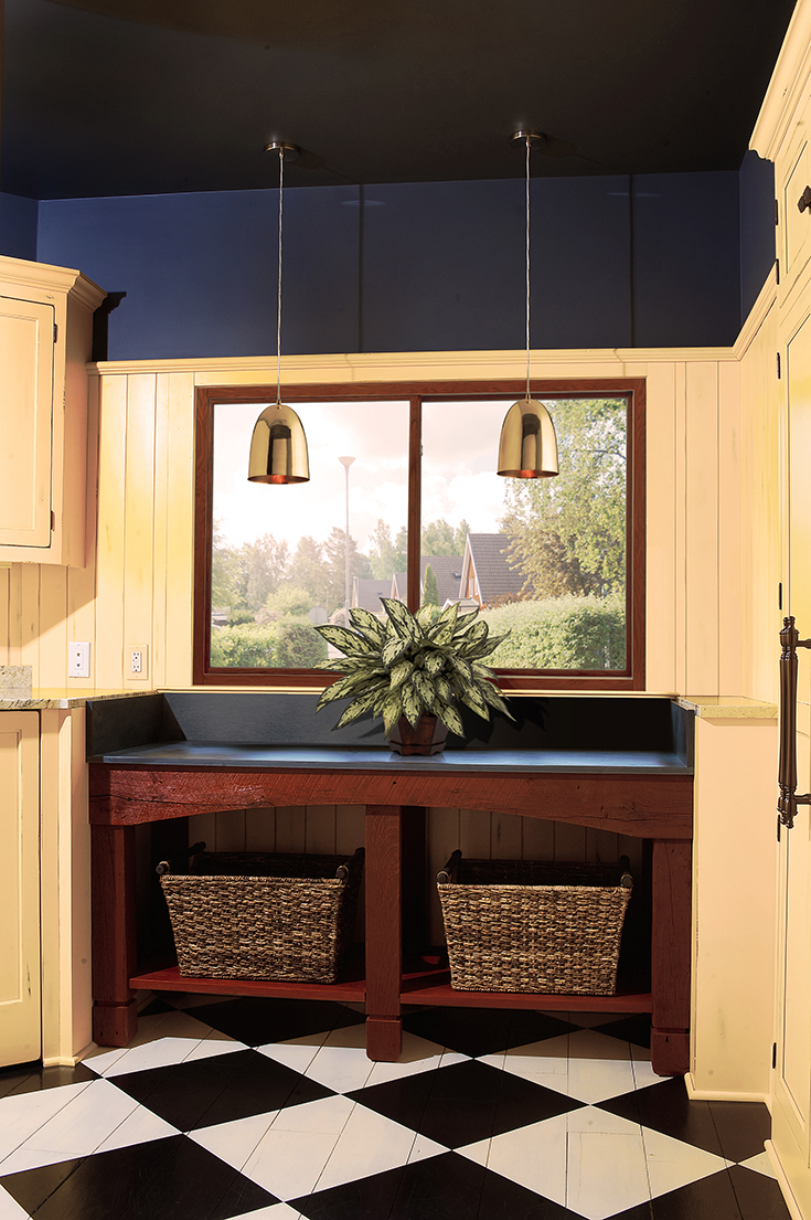 Where to use sliding windows in a laundry room Columbus | Innovate Building Solutions #SlidingWindow #LaundryWindow #Window