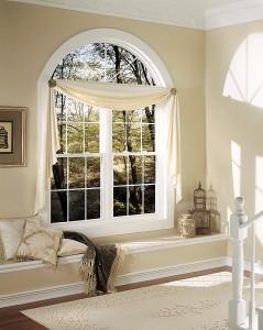 Window grids inside 2 double hung windows