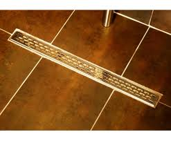 Linear trench drain cover