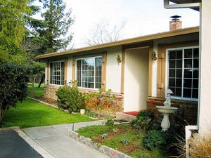 Single level ranch home