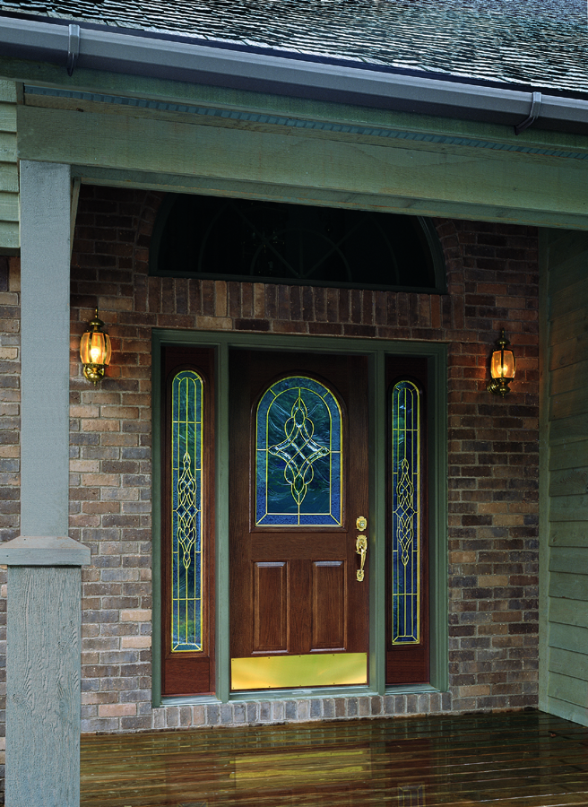 Steel entry doors for the front side back advantages for Steel front entry doors