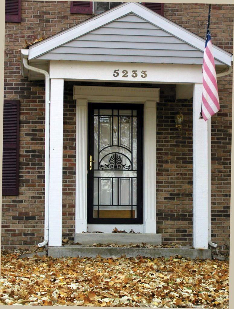 Steel Security Storm Door For Safety Cleveland Columbus Cincinnati