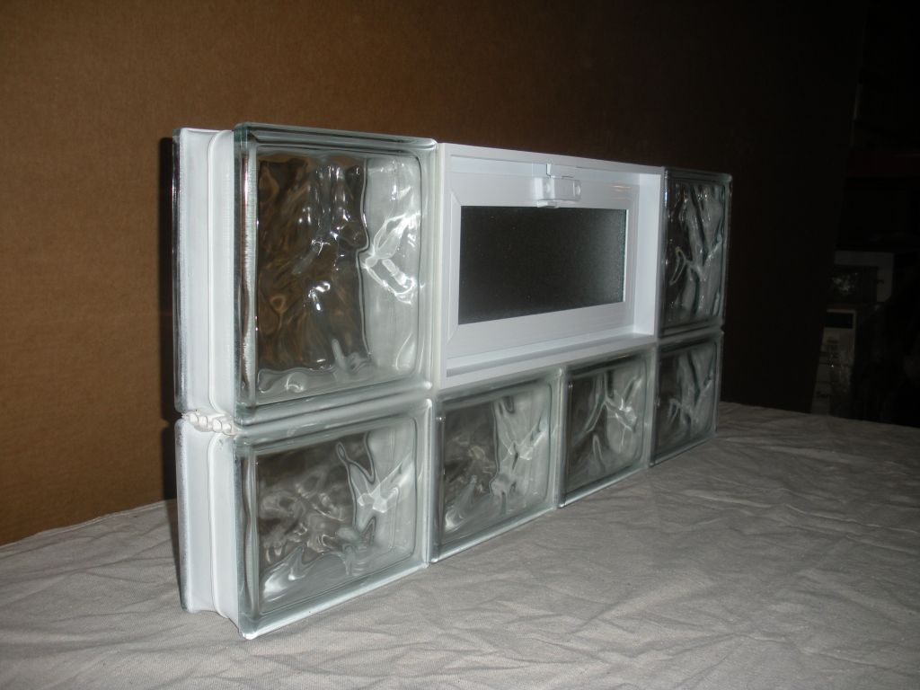 High Security Basement Bath Garage Glass Block Windows