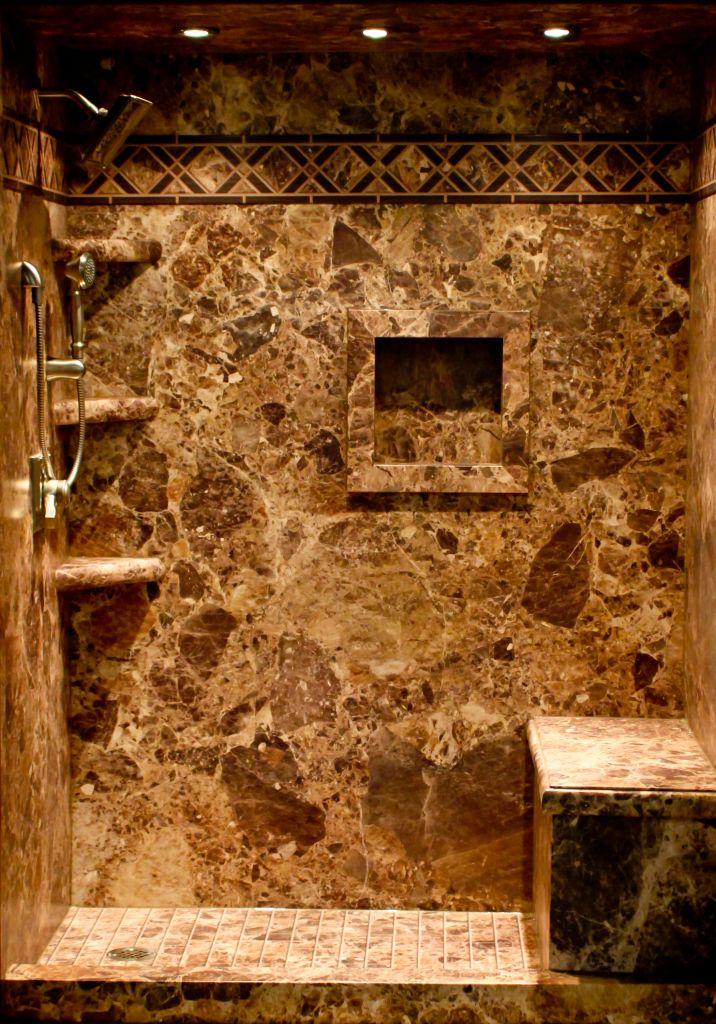 Decorative Shower & Tub Walls Panels Using Sentrel Composite ...