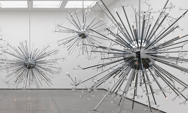Mirrored glass pieces - Josiah McElheny