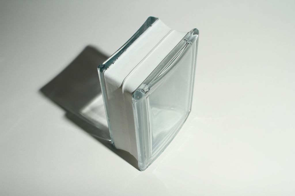 Curved bent glass shower enclosures cost effective for Glass block options