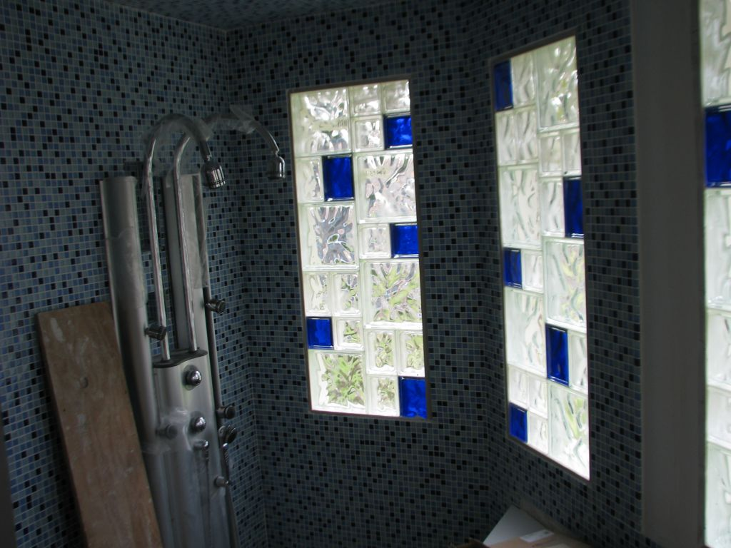 Glass Block Sizes Colors For Windows Shower Wall