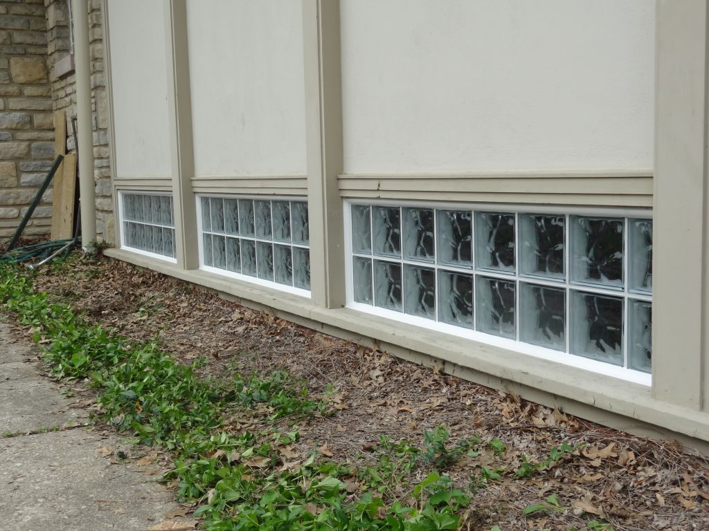 Replacing single pane basement bathroom church windows for Basement windows