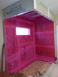 Steam shower waterproofing in atlanta georgia
