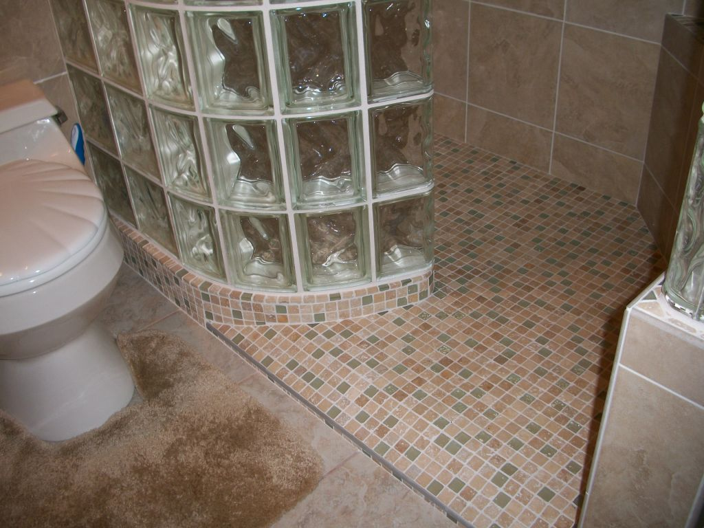 Accessible barrier free wet room shower systems Cleveland, Columbus on zero entry bathtubs, zero entry spa, zero barrier shower, ada shower design, waterfall shower design, zero threshold shower,