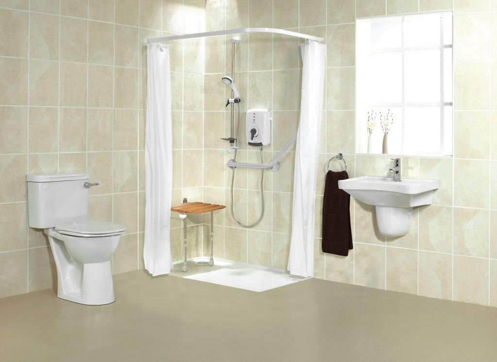 Accessible Bathroom Meaning accessible barrier free wet room shower systems cleveland