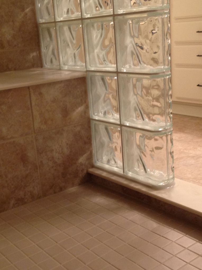 7 Useful Tips For Building a Step Down Glass Block Shower Wall