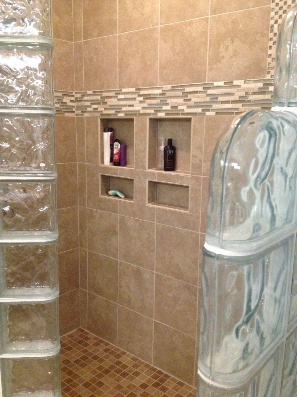 Ready For Tile Shower Base For A Glass Block Shower