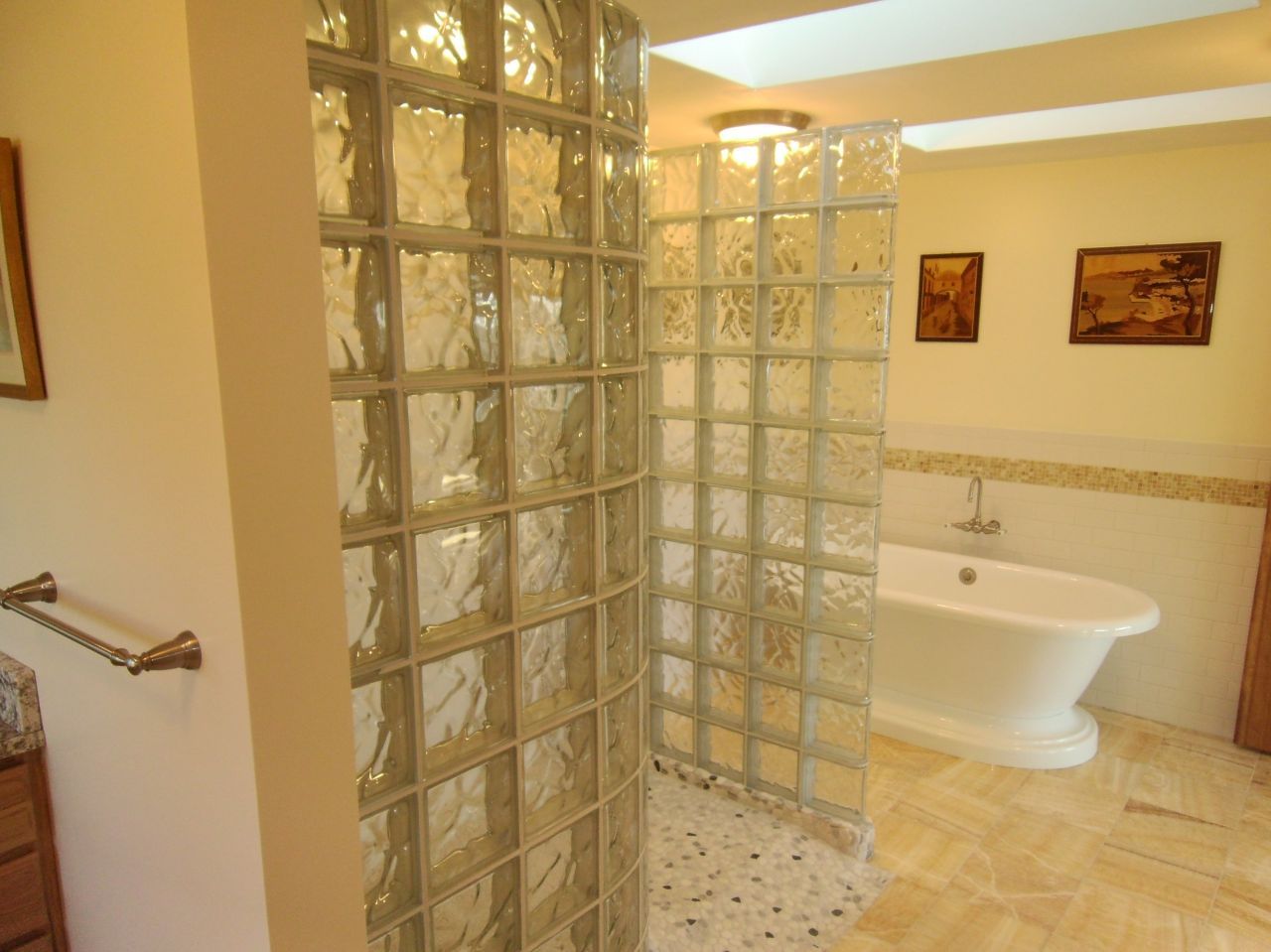 Bathroom Remodeling Leads Remodeling Space Over A Garage Larger Master Bathroom New Harbor Maine