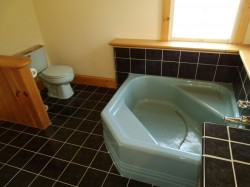 Original small bathroom that was removed