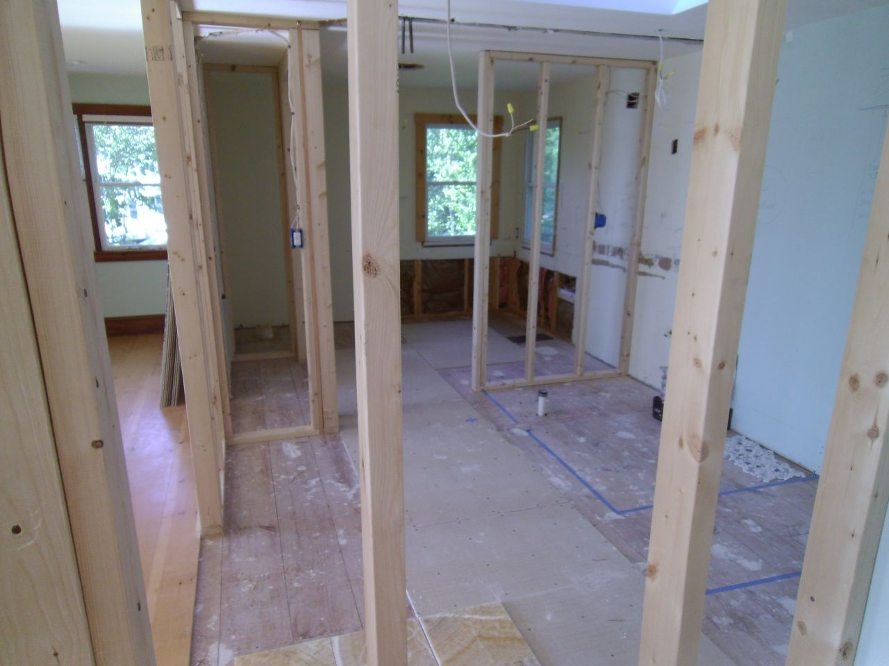 Remodeling space over a garage larger master bathroom new for Bath remodel nashua nh