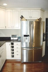 Stainless steel appliances are still very popular