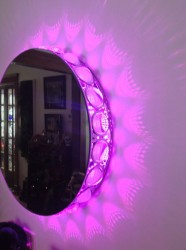 LED version of the light and mirror combo
