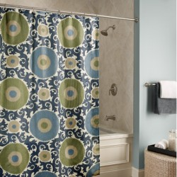 Shower curtains can be very cost effective