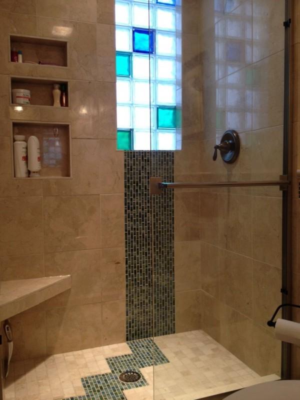 Glass block windows for bathrooms