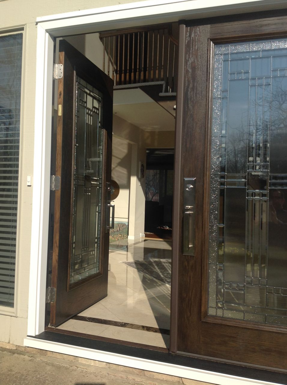 French Exterior: Fiberglass French Entry Doors Cleveland, Columbus Ohio