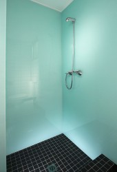 high gloss shower