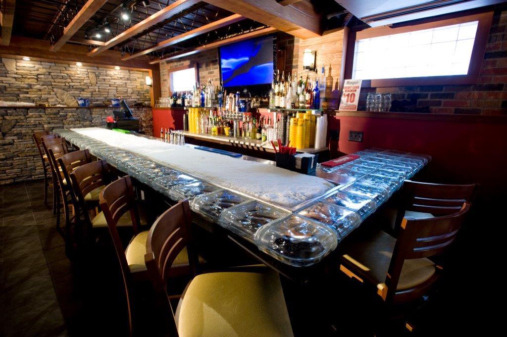 Glass Block Ice Bar Column Banister Floor Laundry Room