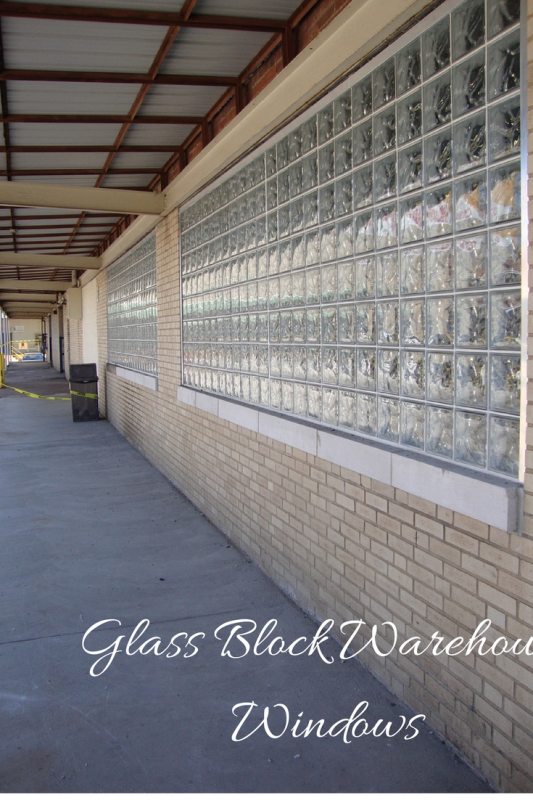 Glass Block Warehouse Windows