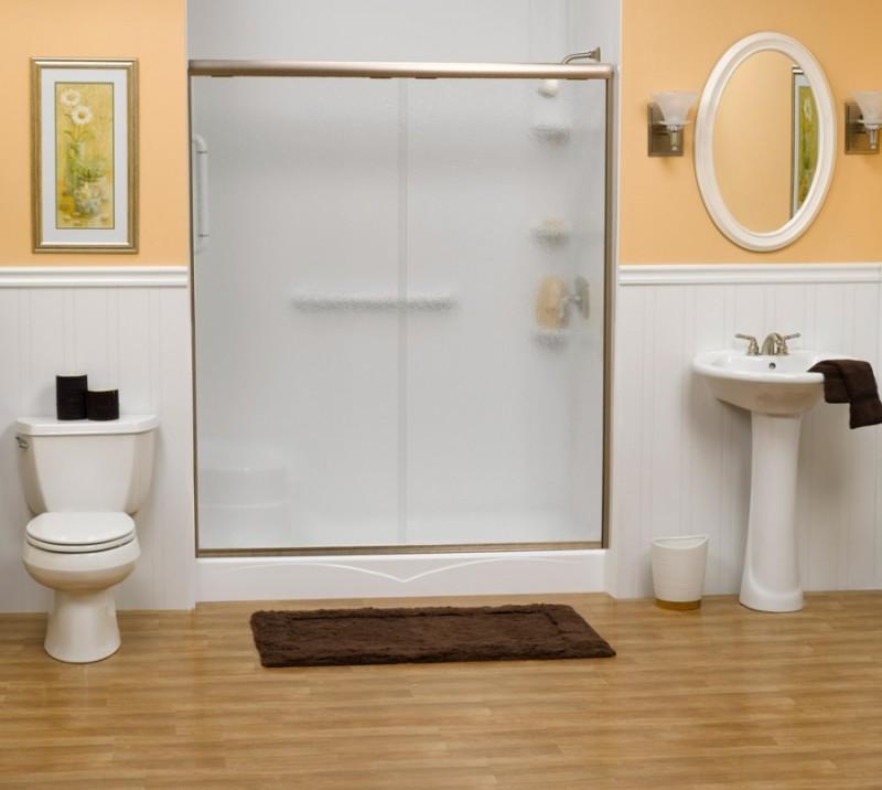 zero threshold shower tub to shower